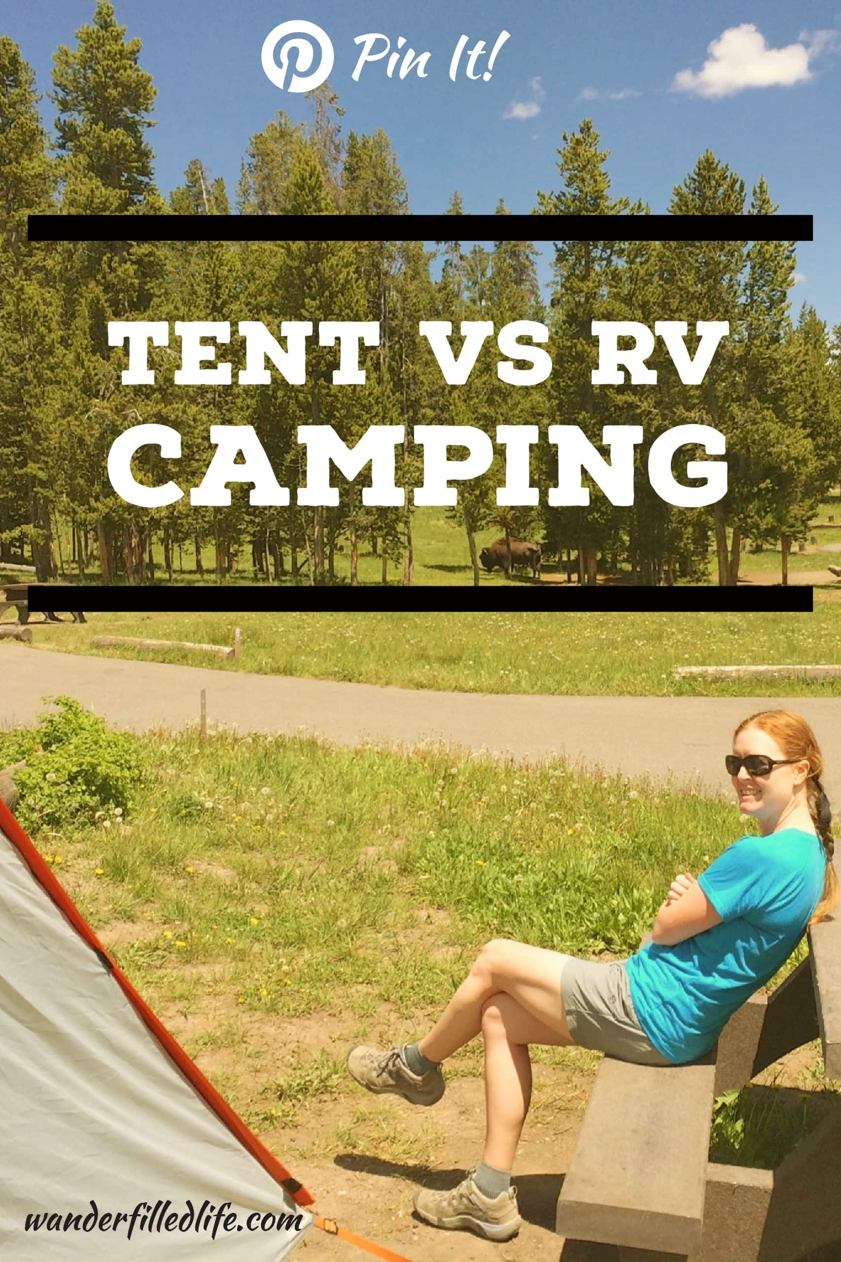 Having done long road trips camping in a tent versus camping in a RV, we look at the benefits of both ways to stay in a campground.