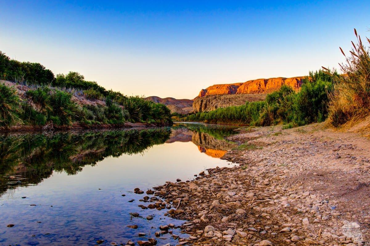 Morning on the Rio Grande