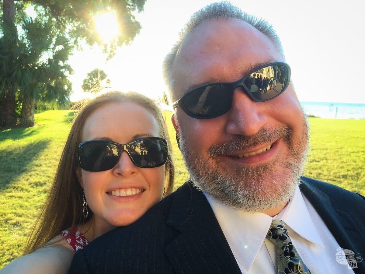 South Florida Wedding Selfie