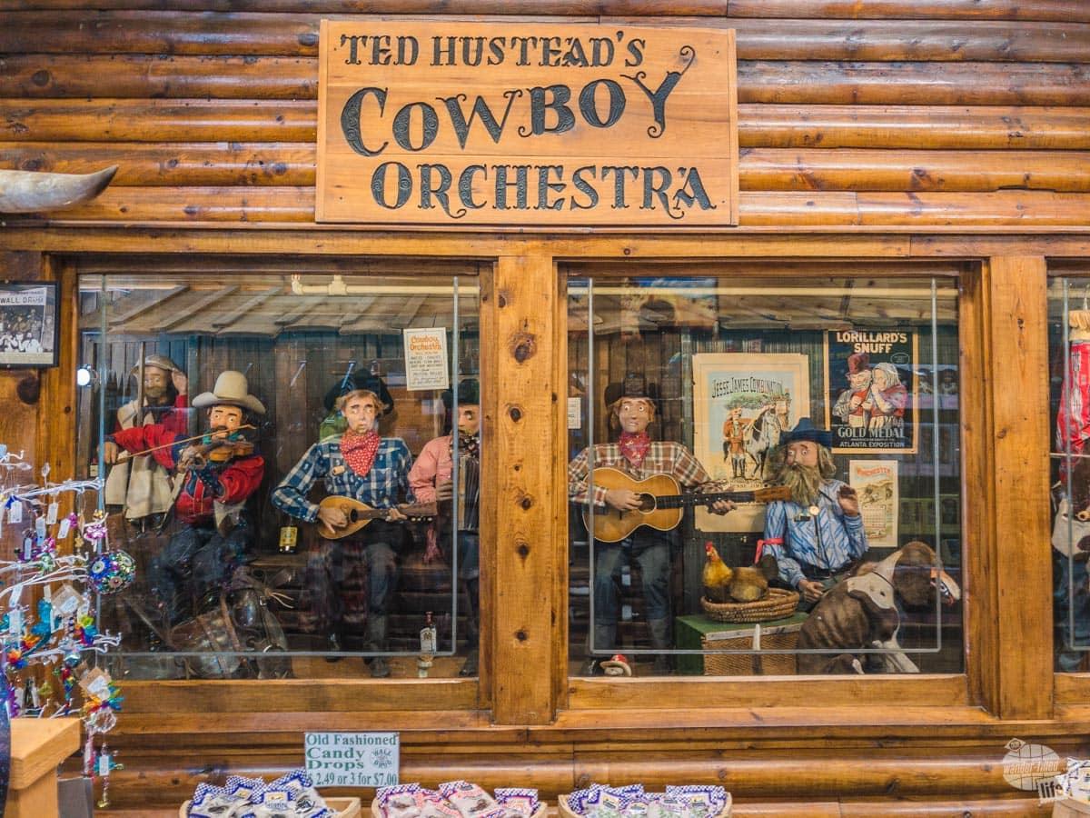 The Cowboy Orchestra at Wall Drug
