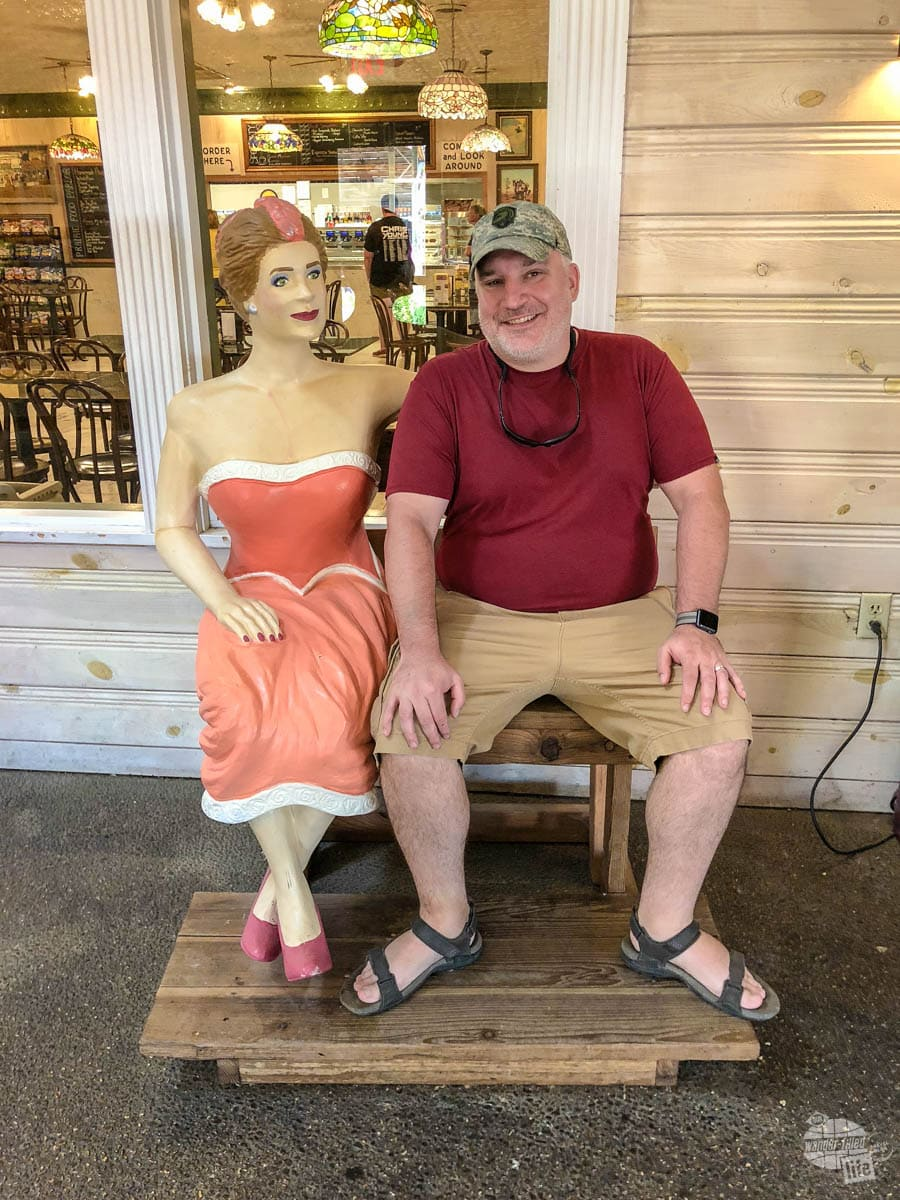 Another cheesy photo op from Wall Drug.