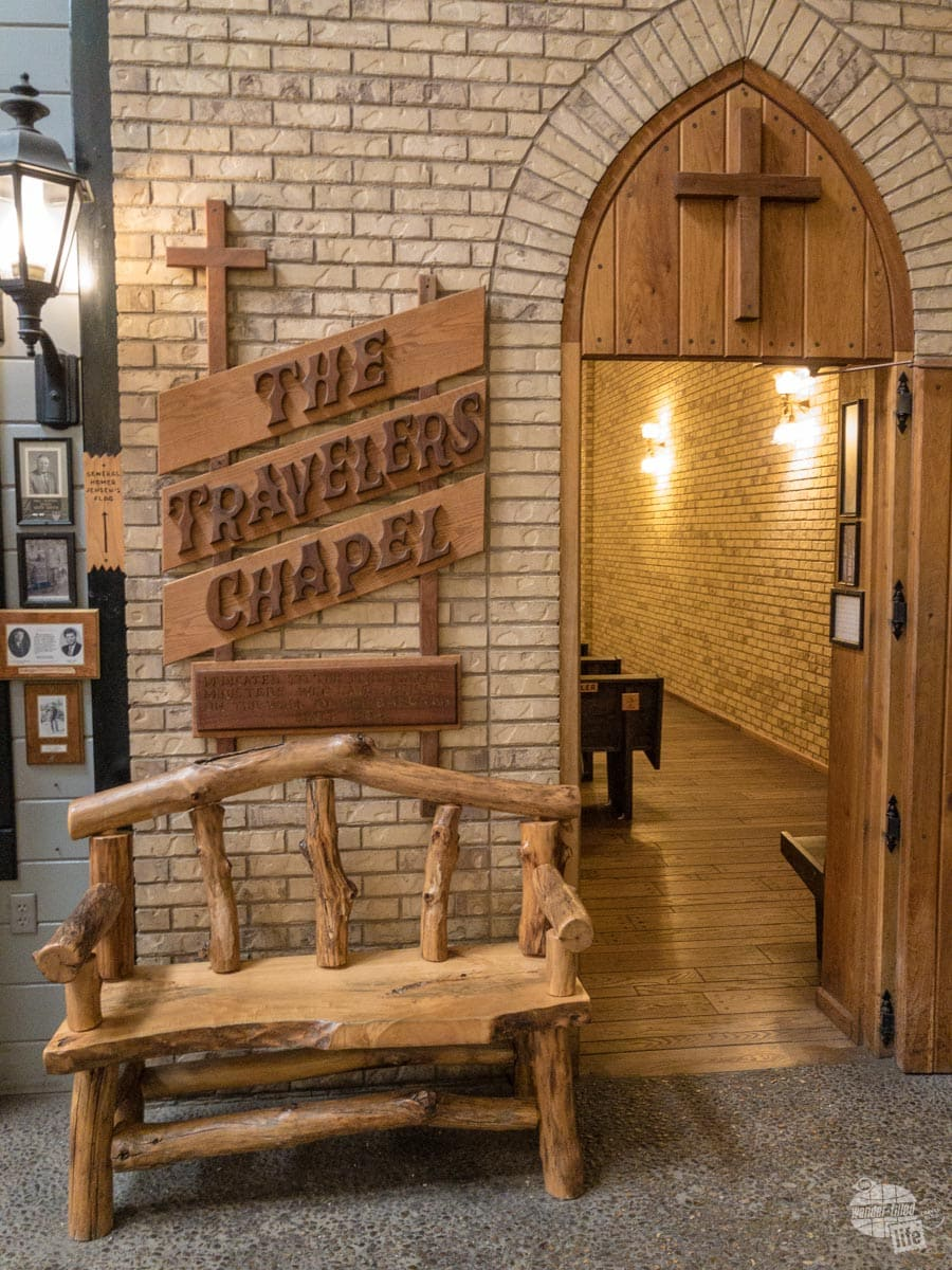 The Travelers Chapel at Wall Drug