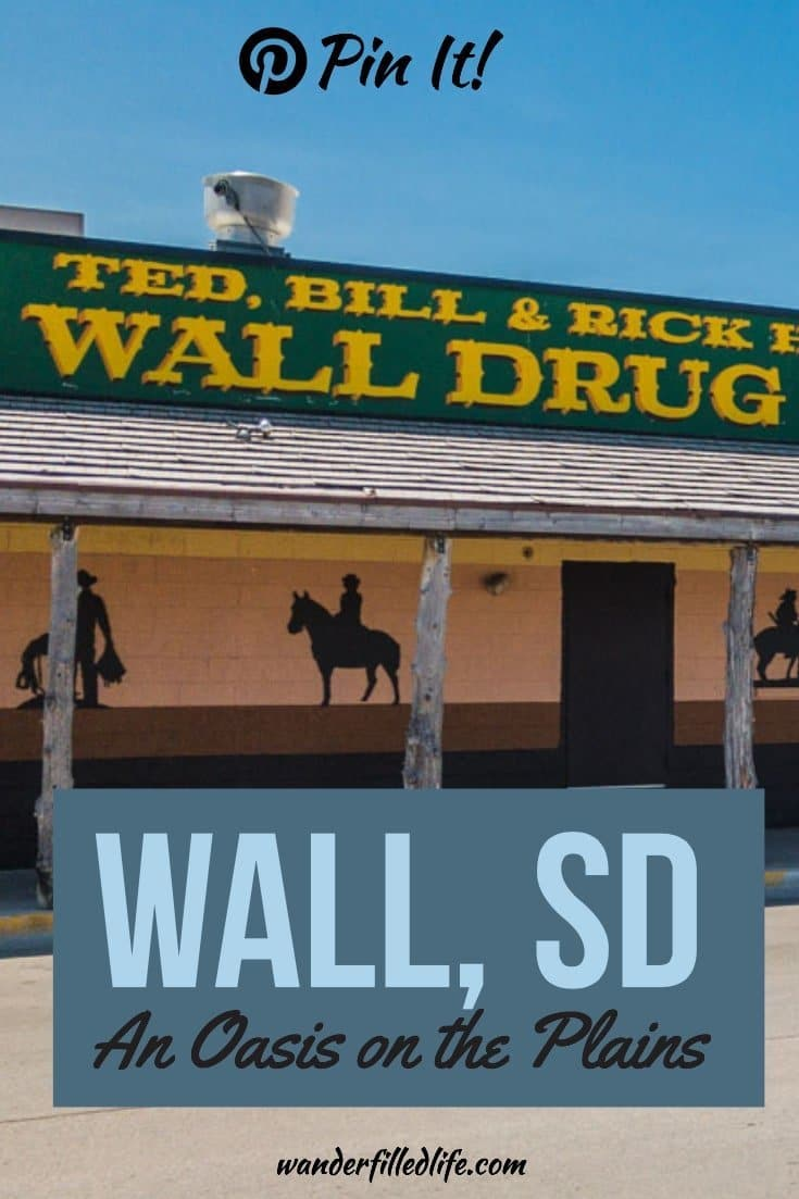 Wall, SD is the home of one of the quirkiest tourist attractions in the US: Wall Drug. It also is a great base for exploring Badlands National Park.