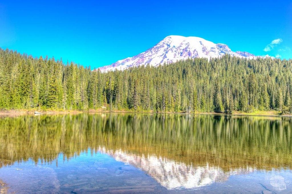 Mt. Rainier at Reflection Lake