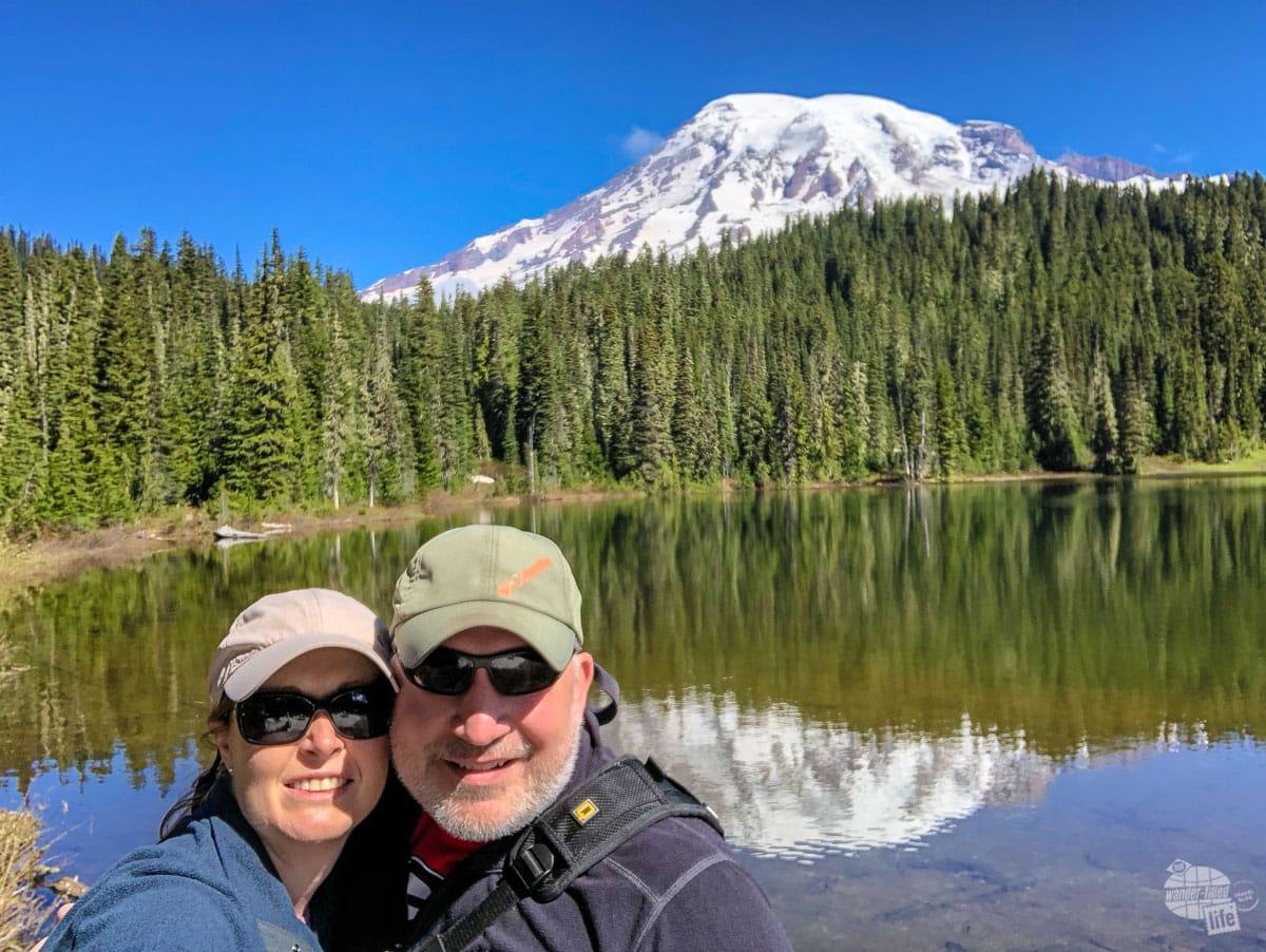Selfie at Reflection Lake