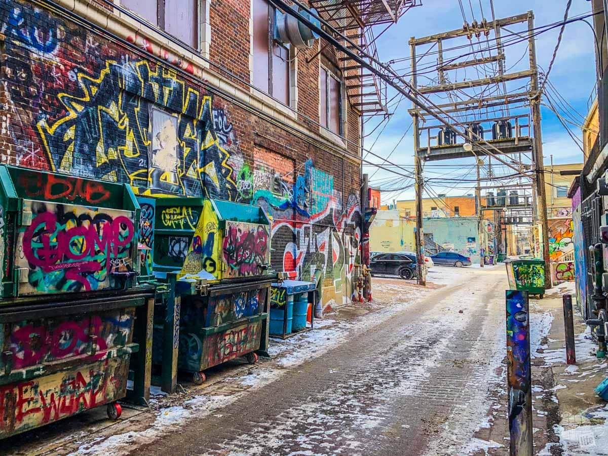 Art Alley in Rapid City