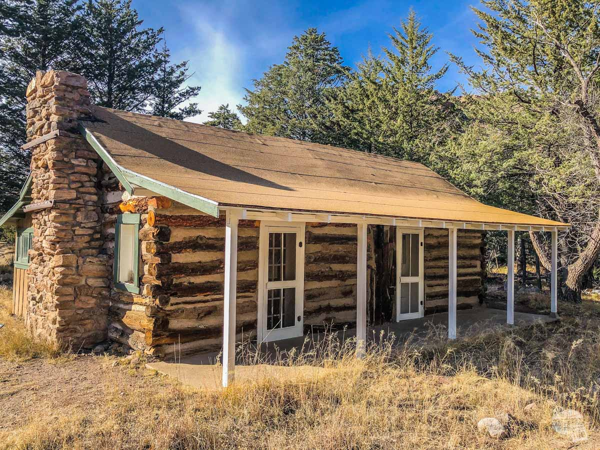 The Stafford Cabin is one of the oldest homestead cabins remaining in southeast Arizona.