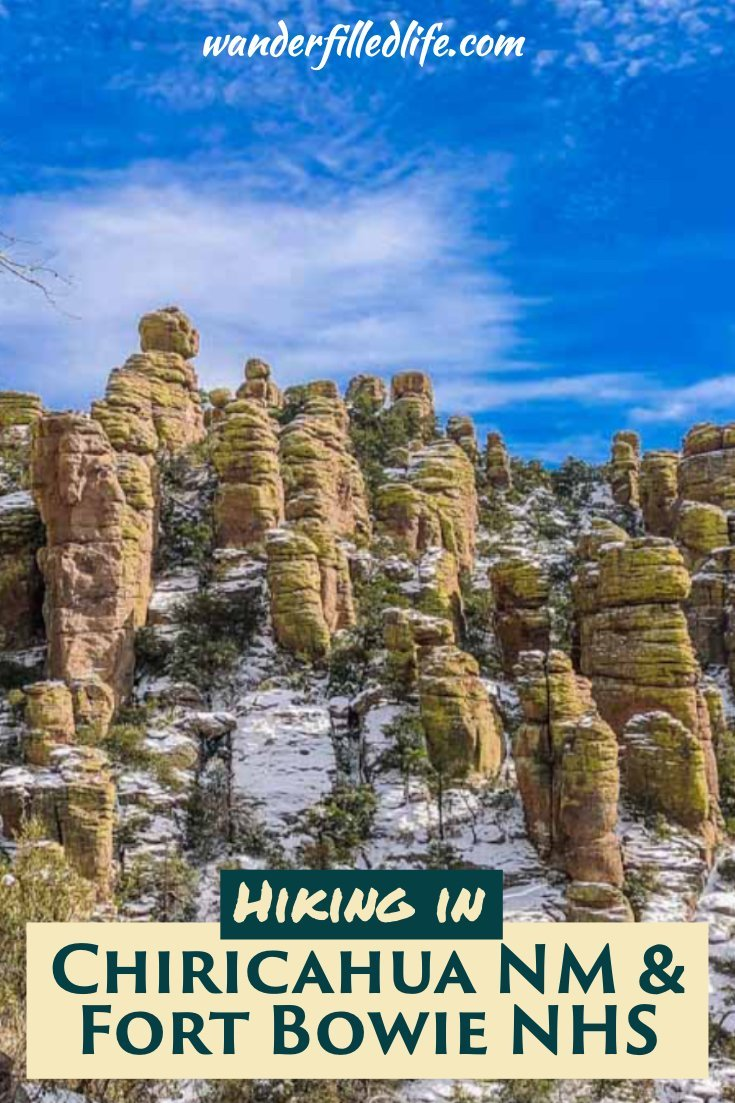 They aren't easy to get to, but the scenery and hiking in Chiricahua National Monument and Fort Bowie National Historic Site are well worth the effort.