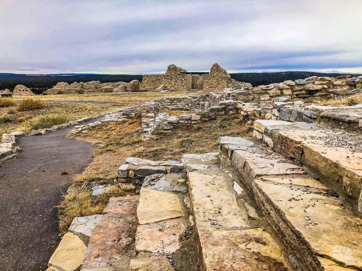 The ruins of Gran Quivira