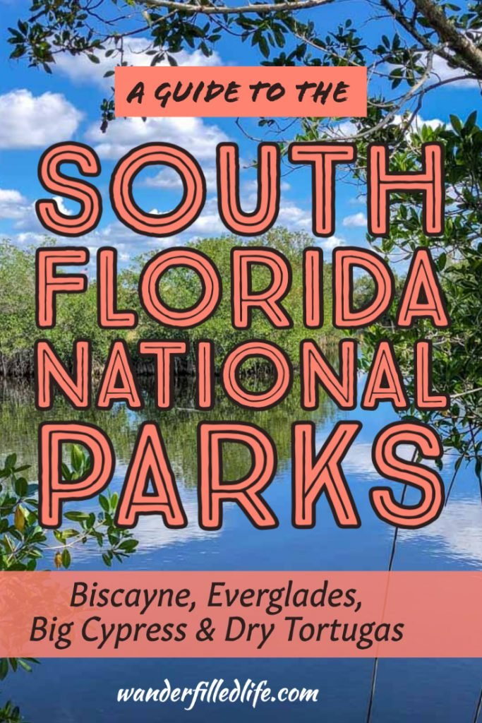 Looking for a warm winter getaway? Head to the South Florida national parks. In these four parks you'll find unique habitats, wildlife and adventures.