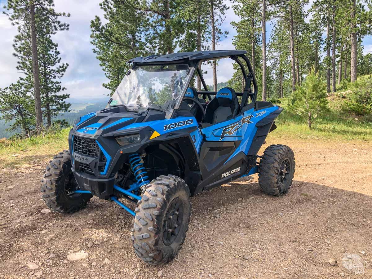 Many ATV rentals in the Black Hills are this Polaris RZR 1000.