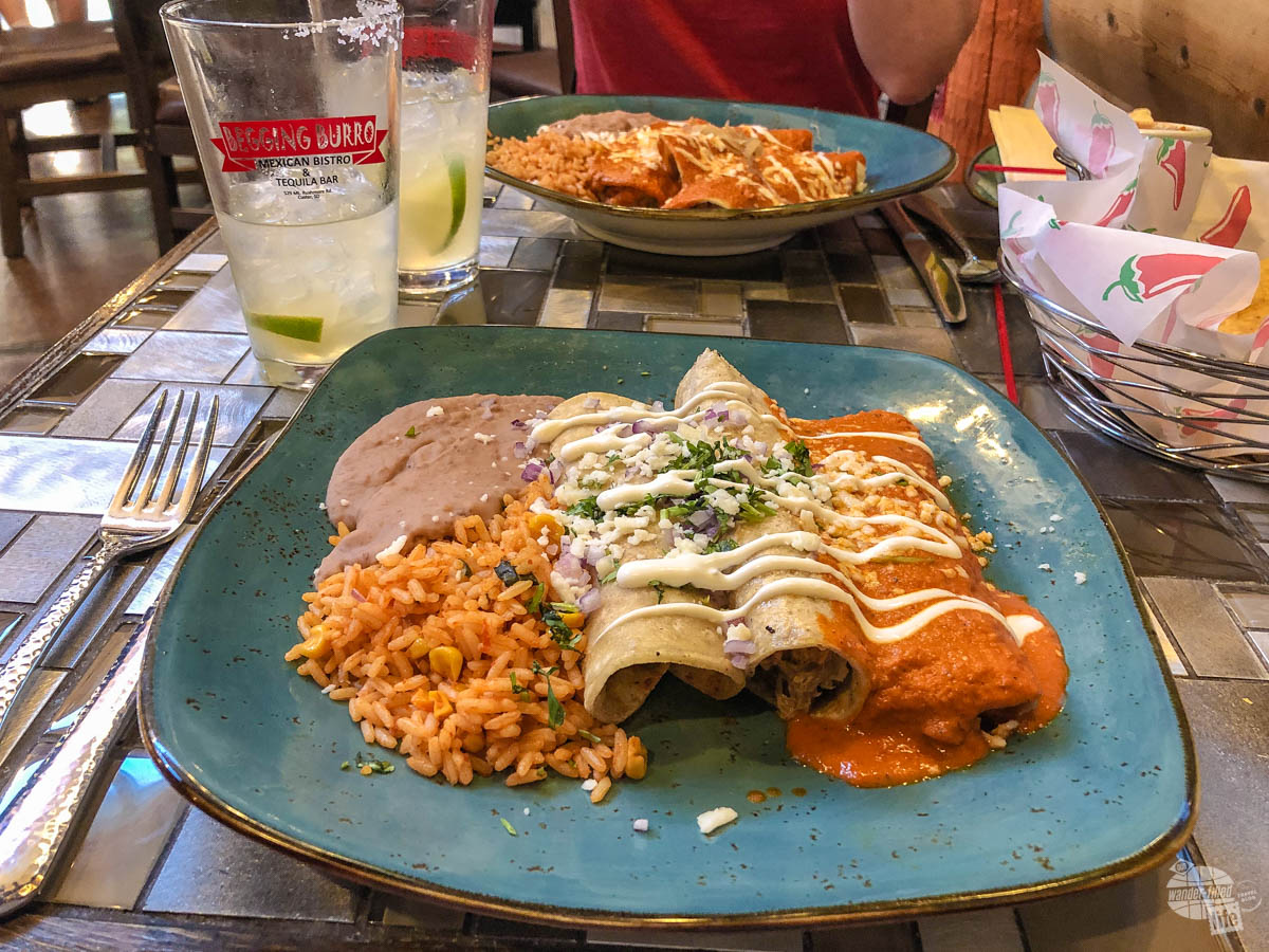 The Beggin Burro is a great Mexican restaurant in the Black Hills.