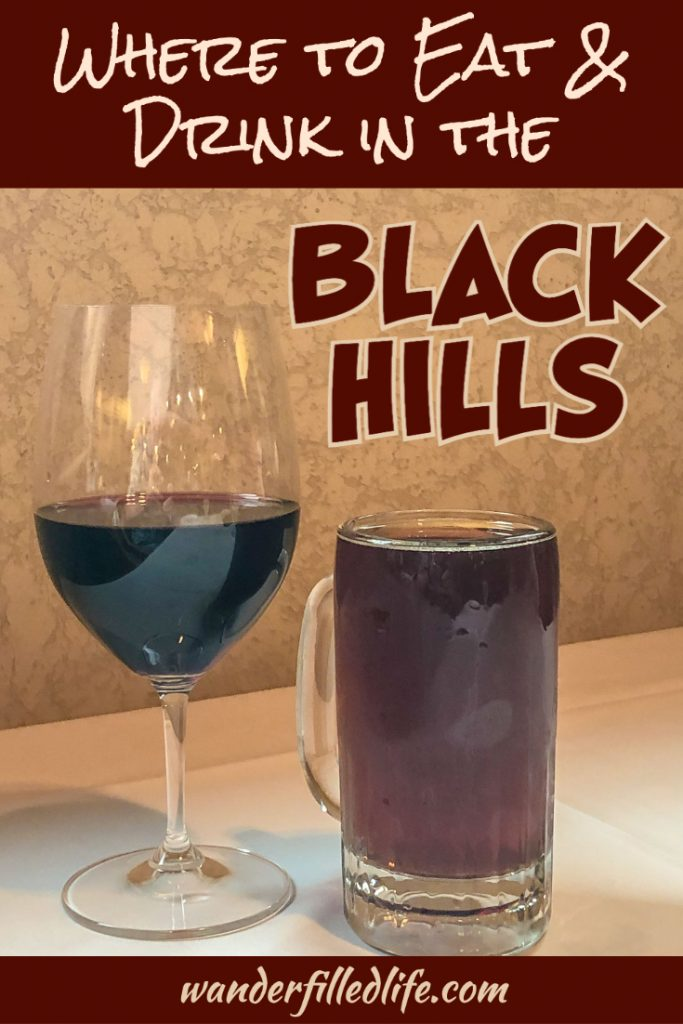 From food trucks to formal dining and several breweries and wineries, there are plenty of great restaurants in the Black Hills!