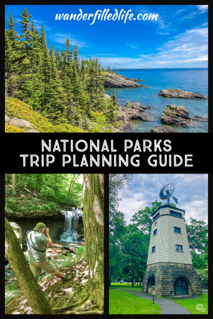 National parks trip planning can be overwhelming but there are tons of resources to help you out. Check out our tips for visiting the parks.