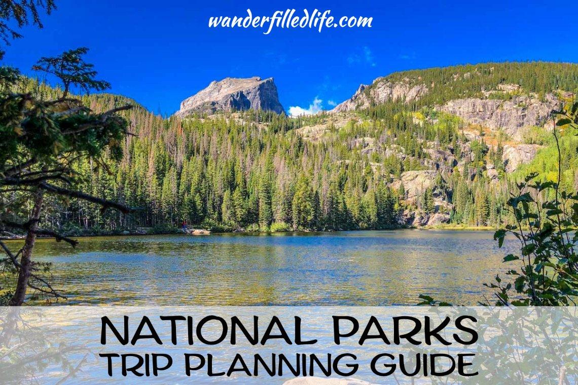 National Parks Trip Planning