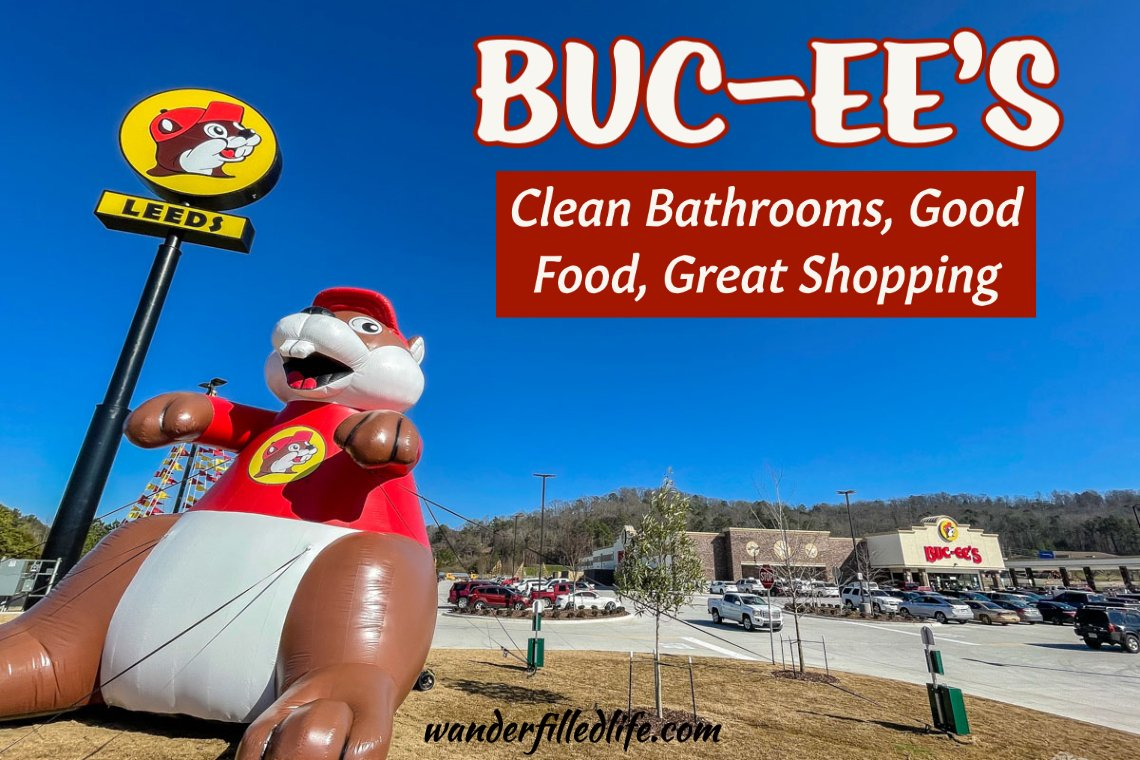 Whether you are looking for gas, food or a bathroom, Buc-ee's has it all, plus some fantastic shopping! It's the ultimate road trip stop.