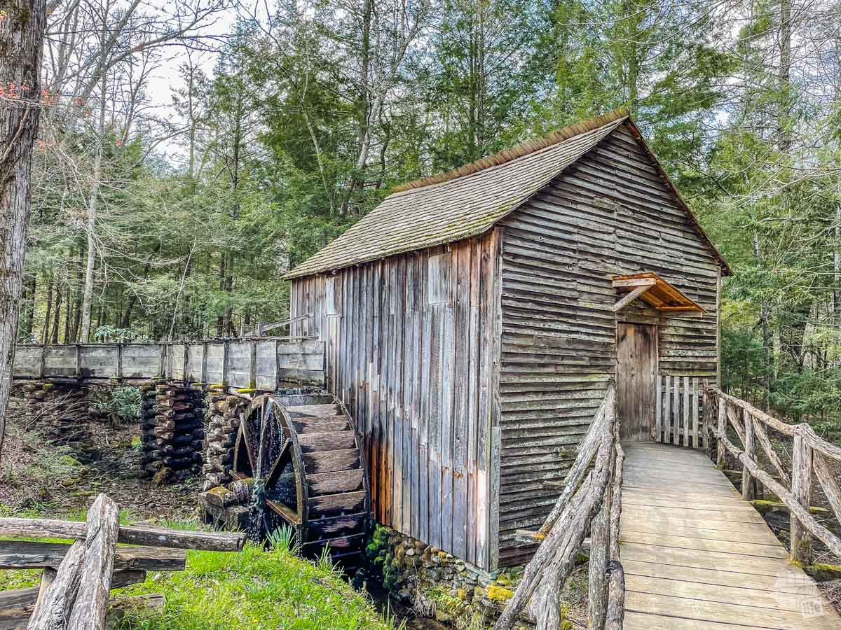 The Cable Grist Mill in Cades Cove