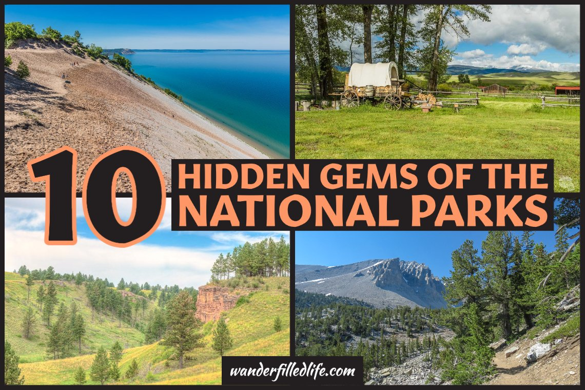 These ten lesser-known national parks offer smaller crowds and unexpected treasures, which we call national park hidden gems.