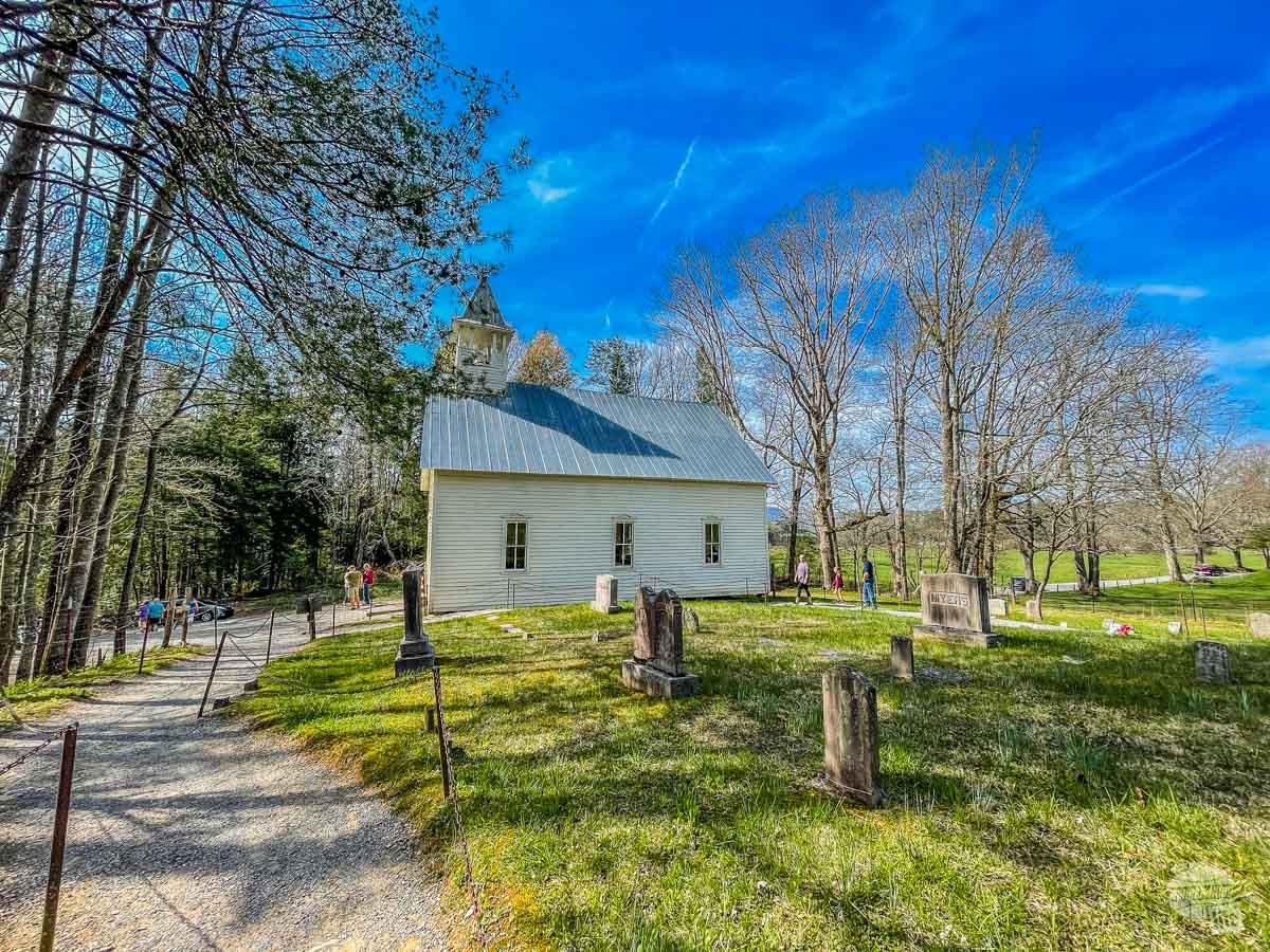 Historic Methodist Church in Cades Cove